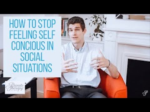 How To Stop Feeling Self Conscious In Social Situations - Focus Of Attention And Social Anxiety