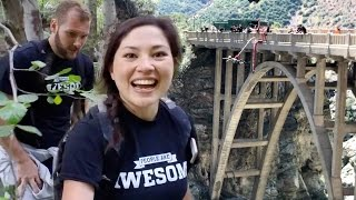 Bungee Jumping at the Bridge to Nowhere  | Thrill Seekers