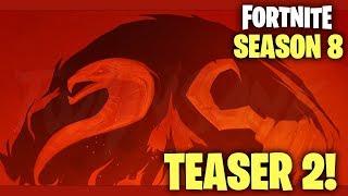 FORTNITE SEASON 8 TEASER #2! SNAKE EGGS & PIRATES CONFIRMED (Fortnite Season 8 reveal)