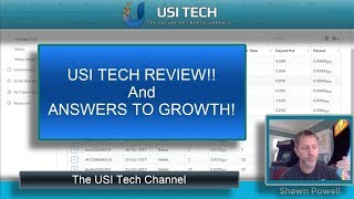USI Tech REVIEW! and Answers to Growth in USI Tech! Thorough Review!
