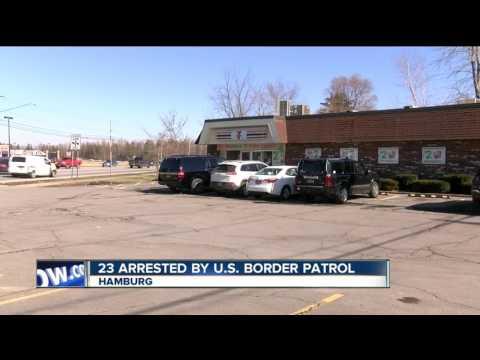 Nearly two dozen arrested by U.S. Border Patrol