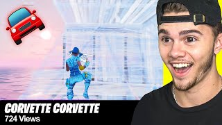 REACTING to my fans FORTNITE MONTAGES... (part 21)