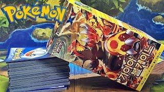 포켓몬 가이아 볼케이노 원시그란돈 EX 카드 게임 랜덤팩 구입 개봉기 리뷰