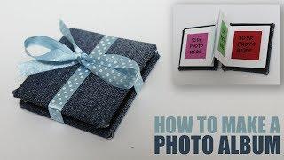 DIY Photo Album Book - Craft Ideas