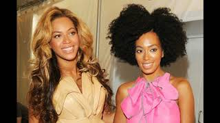 During that famous elevator scene it was said that Solange told Bey...