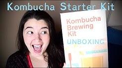 KOMBUCHA STARTER KIT UNBOXING