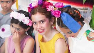 """2018 Curso """"COSTURA Y DISEÑO MODA: Frida Kalho show"""""""