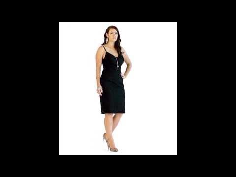 LALA BELLE - Black Lace Trim Dress