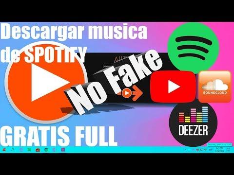 descargar musica de spotify y youtube y deezer y soundcloud gratis 2019  totalmente full mayo❗❗❗🛑