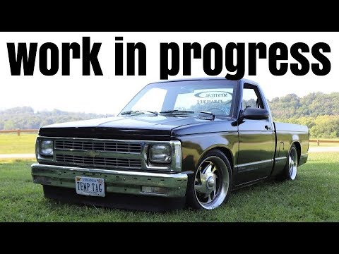 1993 Chevy S10 Build - A Work In Progress