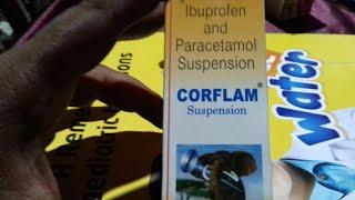 CORFLAM - Suspension ( बच्चों के सूजन वाले दर्द को ठीक करे तुरन्त ) Use Full Hindi Review