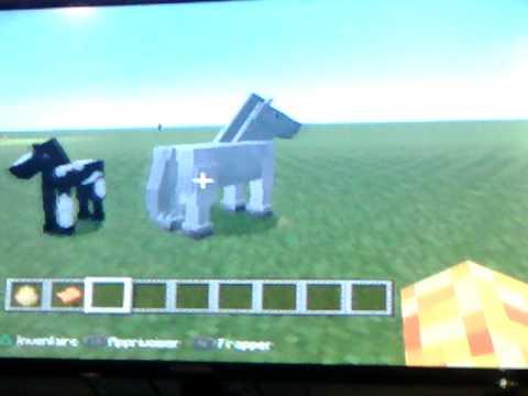 Comment contr l un cheval dans minecraft sur xbox youtube - Cheval minecraft ...