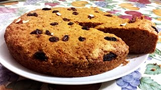 Carrot cake with Wheat flour | No butter, Healthier alternative