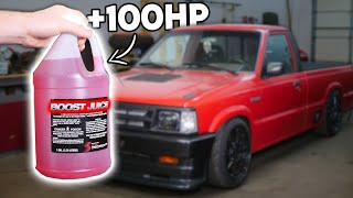 homepage tile video photo for This Liquid Gave My 650WHP SLEEPER 100 MORE Horsepower!