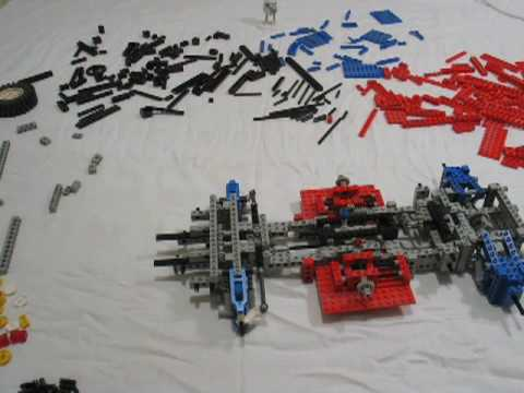 lego technic test car 8865 time lapse build youtube. Black Bedroom Furniture Sets. Home Design Ideas