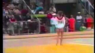 1972 Olympics: Olga Korbut (URS) EF FLoor (full routine, good sound)