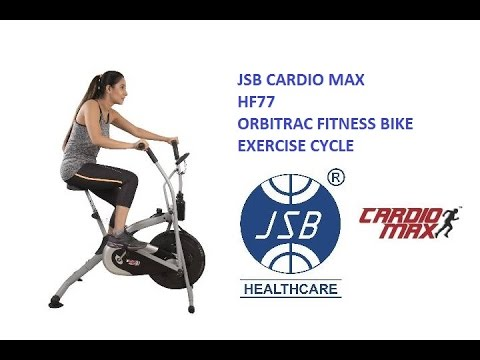 Orbitrac Fitness Bike Exercise Cycle Jsb Cardio Max Hf77 Reviews