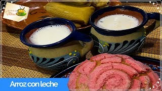 Receta de arroz con leche atole delicioso