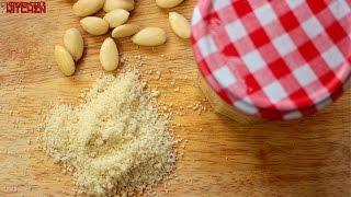 كيفية جعل دقيق اللوز (اللوز وجبة) | Keto أساسيات | Headbanger مطبخ