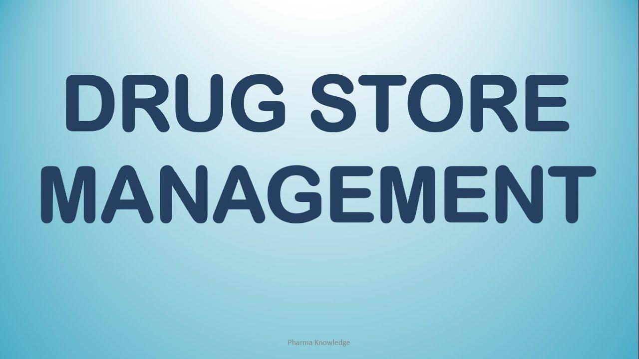 Drug Store Management