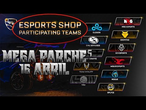 **ESPORTS SHOP, RLCS, ROCKET PASS 3 con SORTEOS INCLUIDOS** ~ ROCKET LEAGUE thumbnail