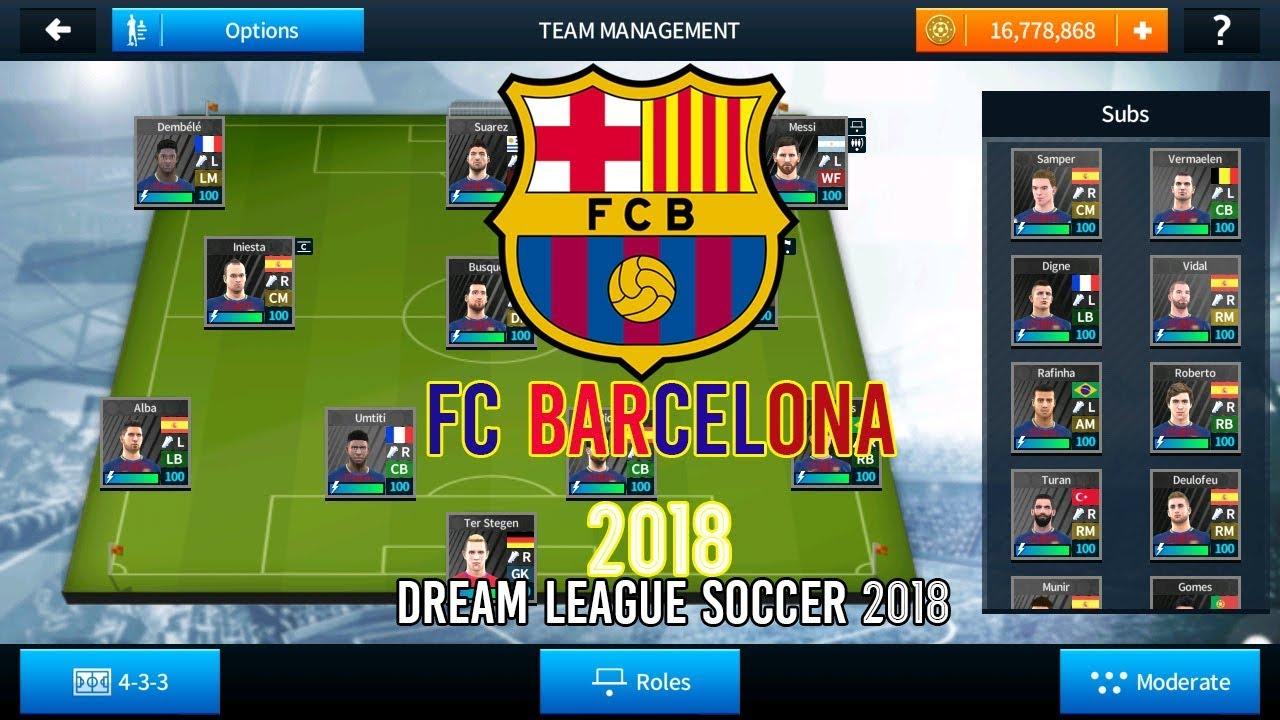 dream league hacked version 2018