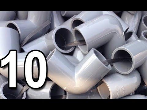 10 SÁNG TẠO HỮU ÍCH Từ Ống Nước Nhựa PVC theo các chủ đề.