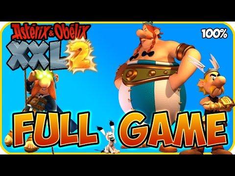 Asterix & Obelix XXL 2 Walkthrough FULL GAME Longplay (PS4, XB1, PC, Switch) Remaster thumbnail