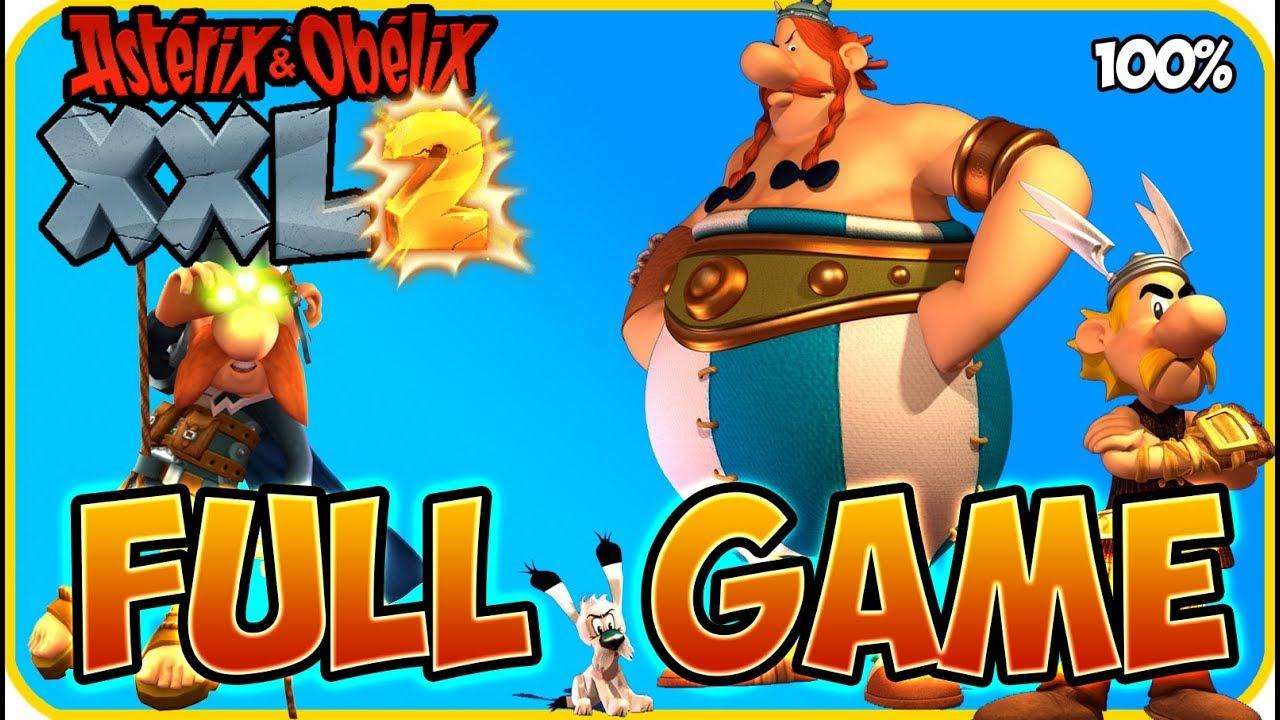 Download Asterix & Obelix XXL 2 Walkthrough FULL GAME Longplay (PS4, XB1, PC, Switch) Remaster