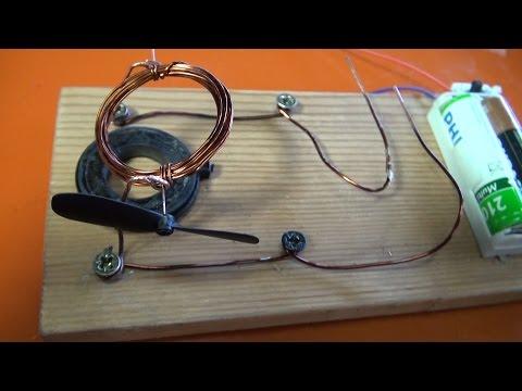 Motor eléctrico facil | Experimentos Caseros