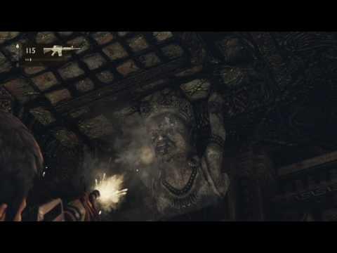 Uncharted 2: Precision treasure shooting
