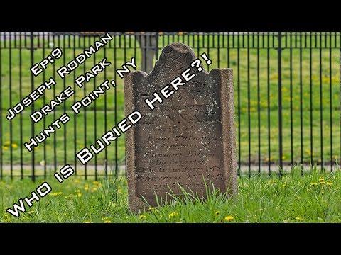 Episode 9 Joseph Rodman Drake Park and Enslaved African Burial Ground