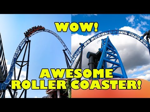 "Riding ""Taiga"" AWESOME Launched Roller Coaster At Linnanmaki Finland! 4K Onride POV"