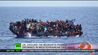 Over 700 migrants feared dead in Mediterranean shipwrecks this week - UN