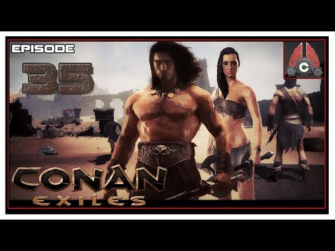 Let's Play Conan Exiles Full Release With CohhCarnage - Episode 35