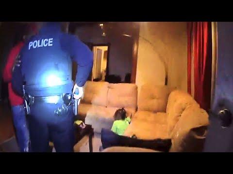 Raw Body Cam: Syracuse Police Kill Man Who Shot Nephew, Rush Boy To Safety