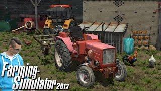 Agregatowanie Władimiriec T-25 na Polska wieś ☆ #1 Farming Simulator 2013  ㋡ MafiaSolec