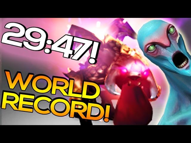 Dark Moon Event WORLD RECORD - FASTEST WIN DOTA 2 | 29:47!