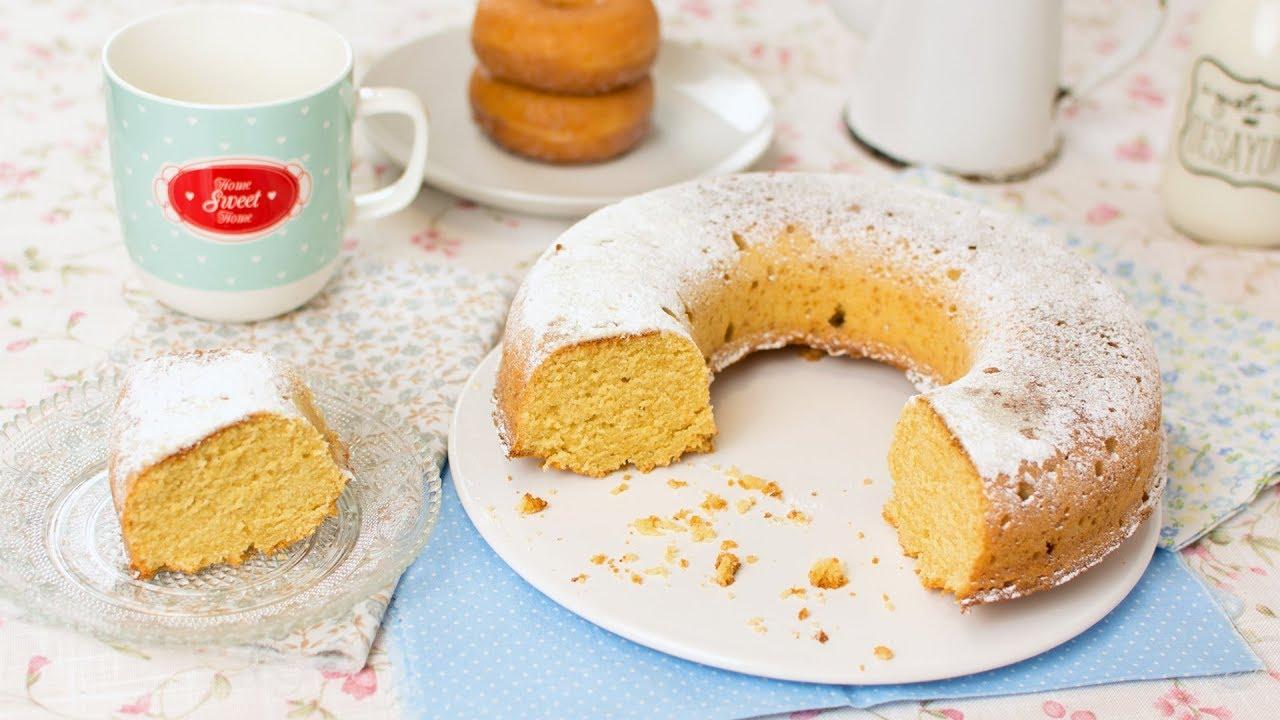 maxresdefault - Glazed Donuts Cake - Super Easy Cake Doughnut Recipe