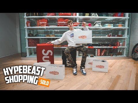 14b7fae28e6 Spending Over $6,000 At SoleStage New York Hypebeast Shopping! - YouTube