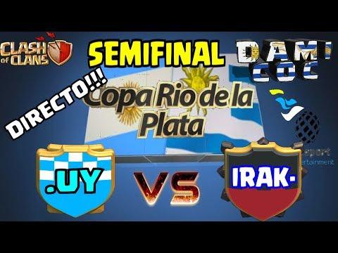DIRECTO!!! SEMIFINAL - Copa Rio de la Plata - .UY vs IRAK-