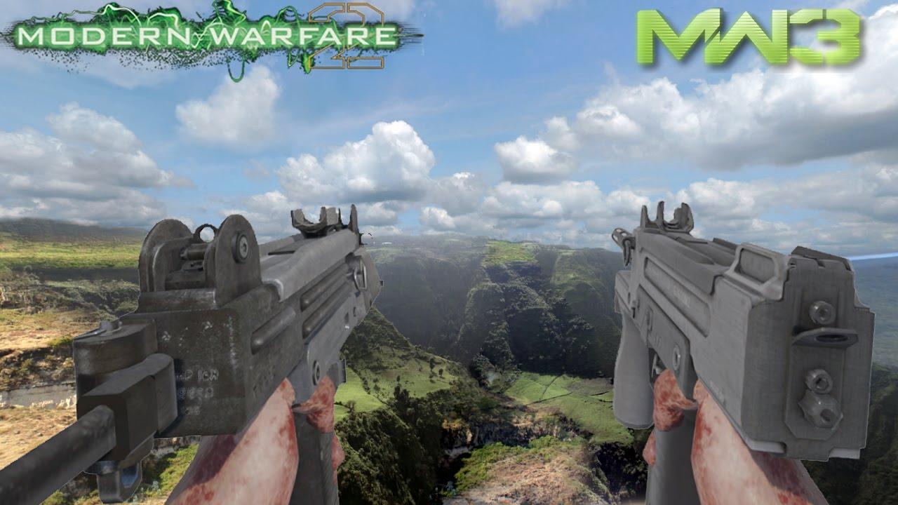 [Black Ops 3 Mod Tools] MW3 PM9 w/ MW2 Mini Uzi