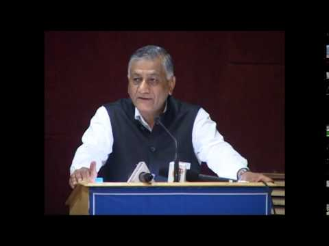Keynote Address by General Vijay Kumar Singh (Retd), Minister of State for External Affairs, GoI