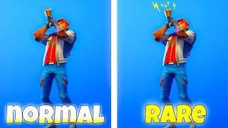 Fortnite EMOTES With RARE HIDDEN FEATURES! (Easter Eggs) Fortnite Battle Royale