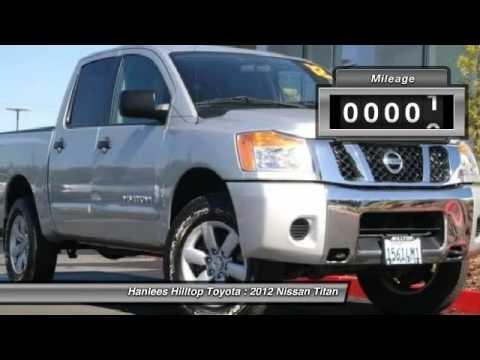 2012 Nissan Titan Richmond CA PR20148