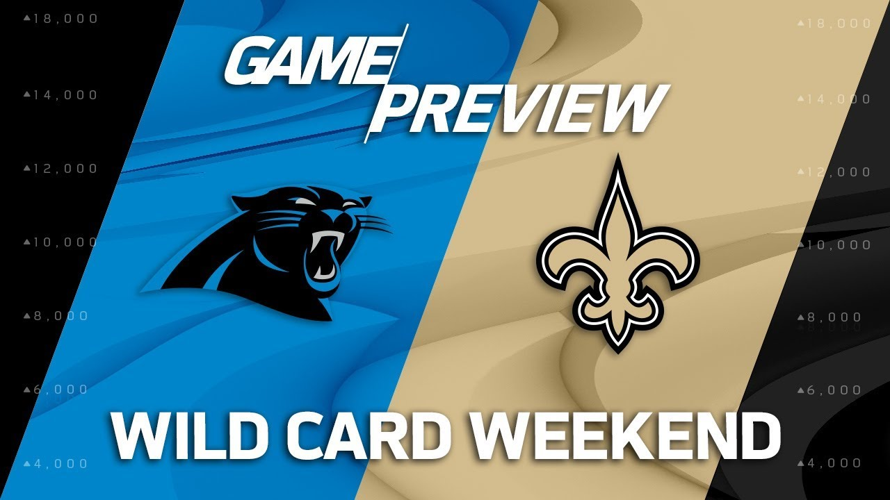 5583bd72 Carolina Panthers vs. New Orleans Saints | NFL Wild Card Weekend Game  Preview | Move the Sticks