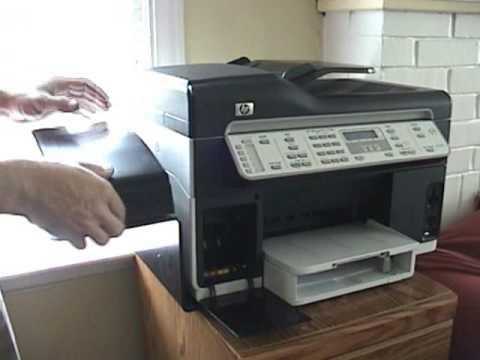 Hp Officejet Pro All In One L7680 Hp 88 Cartridge Youtube