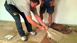Entfernen Vom Verklebten Teppichboden