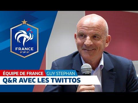 Equipe de France : Guy Stéphan répond aux questions des twittos I FFF 2018