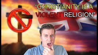 "UK says Christianity is ""not peaceful"" - DENIED asylum to Iranian Christian"